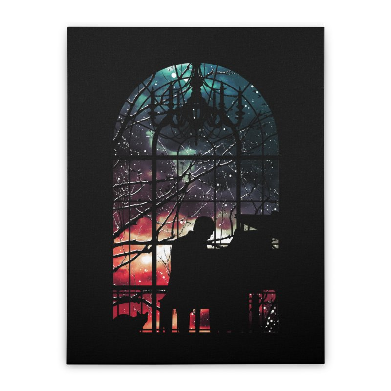 Midnight Sonata Home Stretched Canvas by Niel Quisaba's Artist Shop
