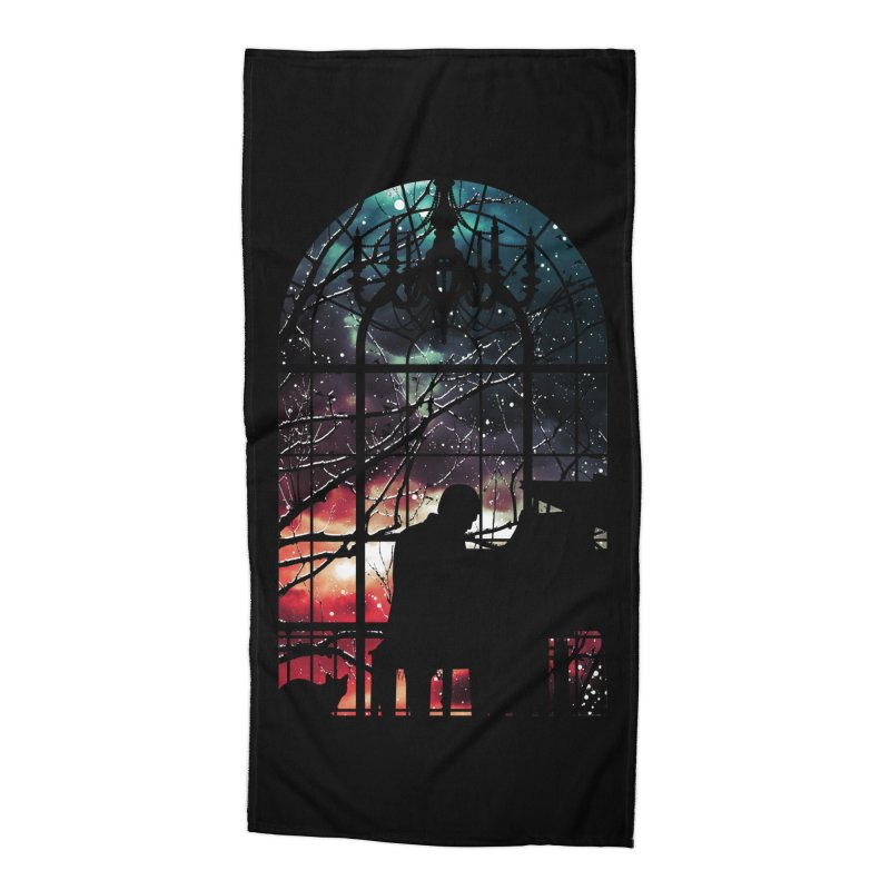 Midnight Sonata Accessories Beach Towel by Niel Quisaba's Artist Shop