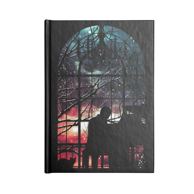 Midnight Sonata Accessories Notebook by Niel Quisaba's Artist Shop