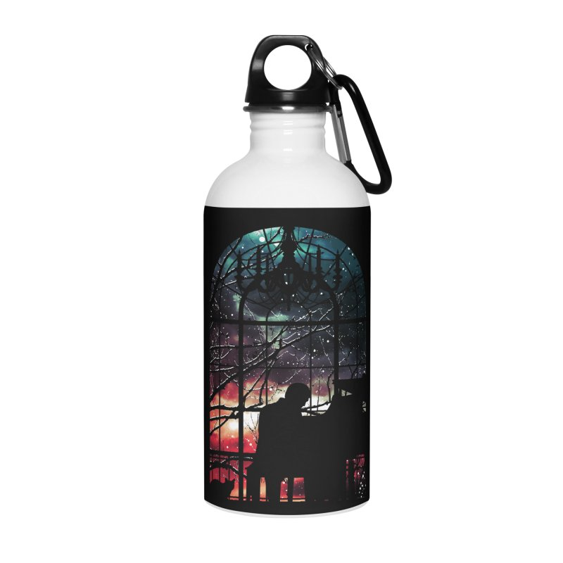 Midnight Sonata Accessories Water Bottle by Niel Quisaba's Artist Shop