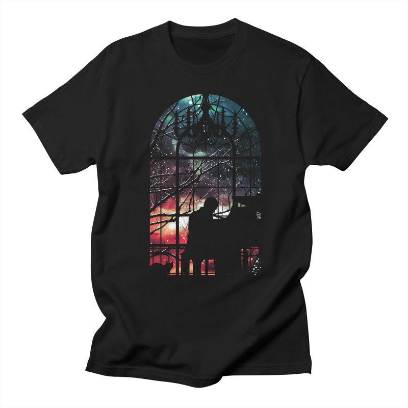 Midnight Sonata Men's T-Shirt by Niel Quisaba's Artist Shop