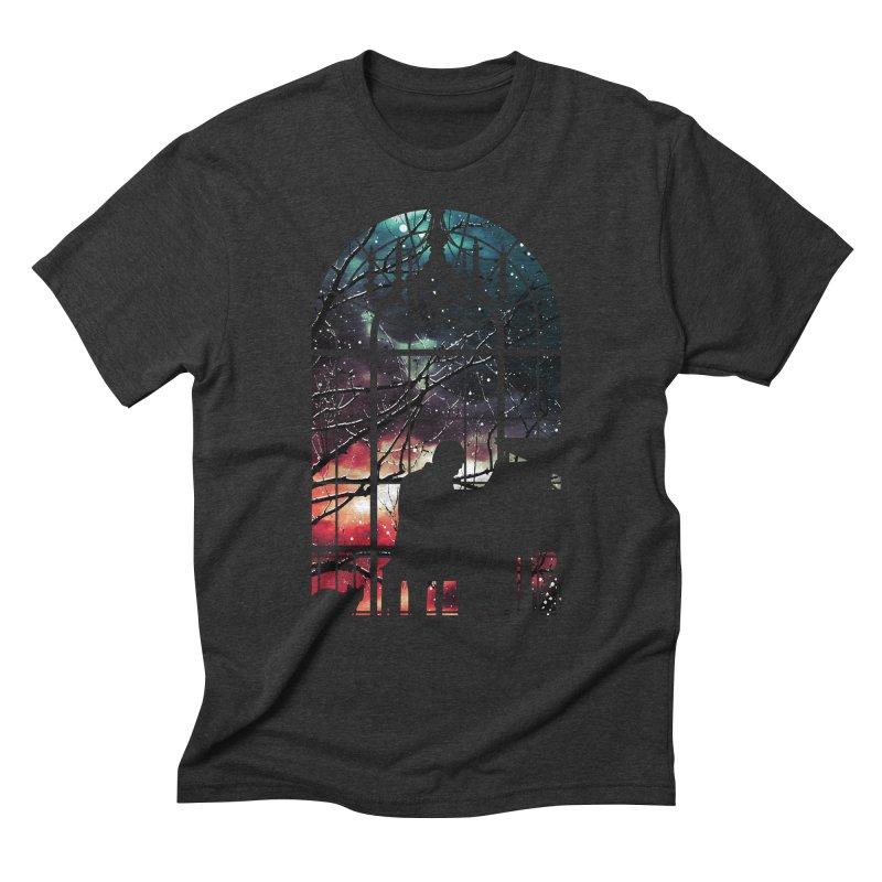 Midnight Sonata Men's Triblend T-Shirt by Niel Quisaba's Artist Shop