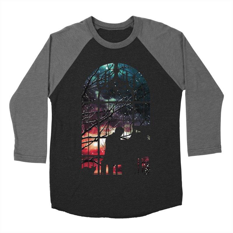 Midnight Sonata Men's Baseball Triblend T-Shirt by Niel Quisaba's Artist Shop