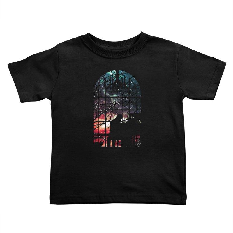 Midnight Sonata Kids Toddler T-Shirt by Niel Quisaba's Artist Shop