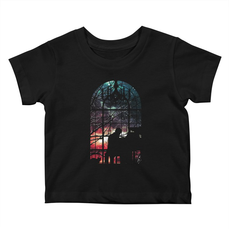 Midnight Sonata Kids Baby T-Shirt by Niel Quisaba's Artist Shop