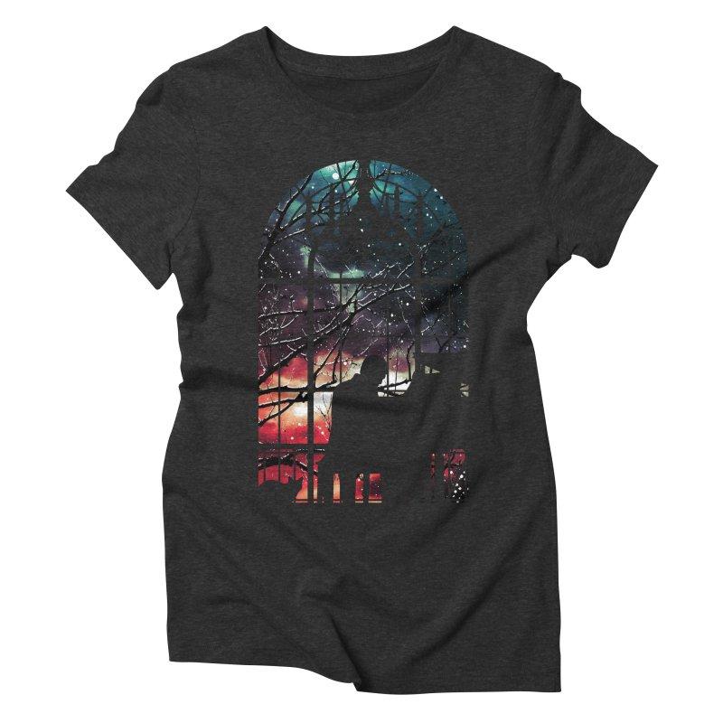 Midnight Sonata Women's Triblend T-Shirt by Niel Quisaba's Artist Shop