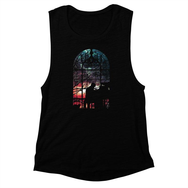 Midnight Sonata Women's Muscle Tank by Niel Quisaba's Artist Shop