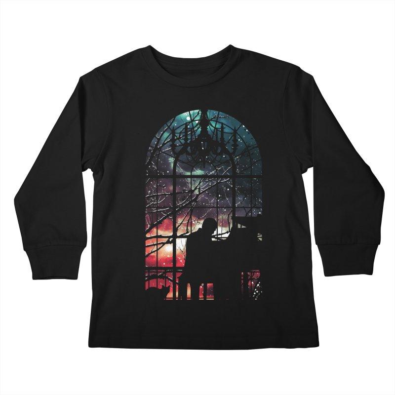 Midnight Sonata Kids Longsleeve T-Shirt by Niel Quisaba's Artist Shop