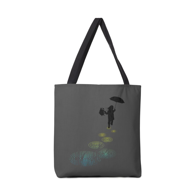 Dancing in the Rain Accessories Bag by Niel Quisaba's Artist Shop