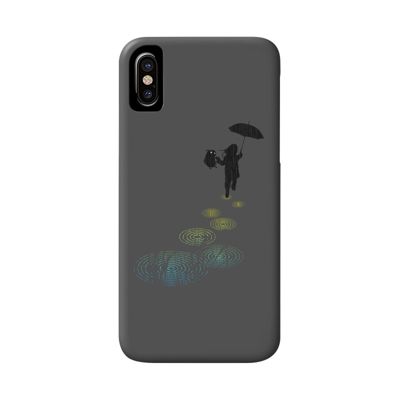 Dancing in the Rain Accessories Phone Case by Niel Quisaba's Artist Shop