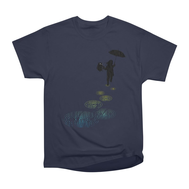 Dancing in the Rain Women's Heavyweight Unisex T-Shirt by Niel Quisaba's Artist Shop