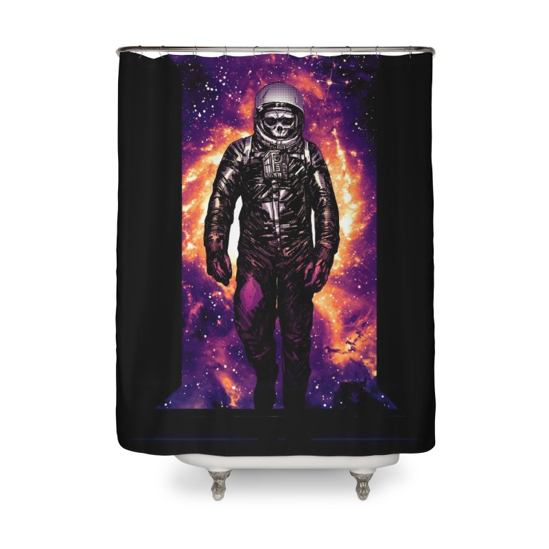 Coming Home Home Shower Curtain by Niel Quisaba's Artist Shop