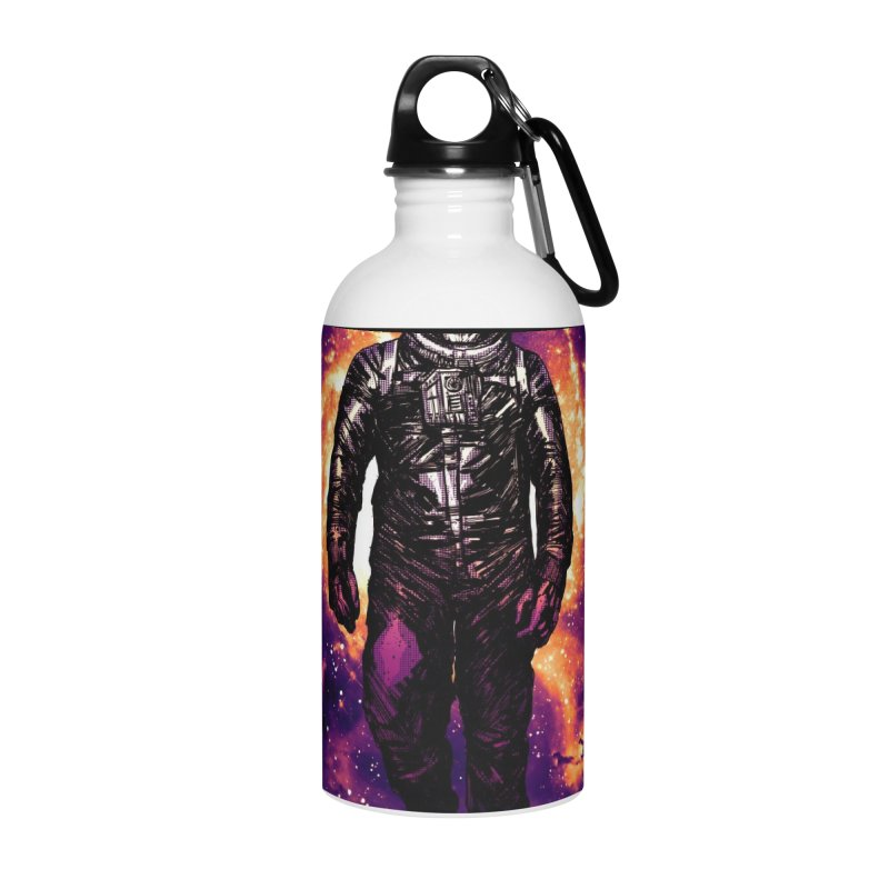 Coming Home Accessories Water Bottle by Niel Quisaba's Artist Shop