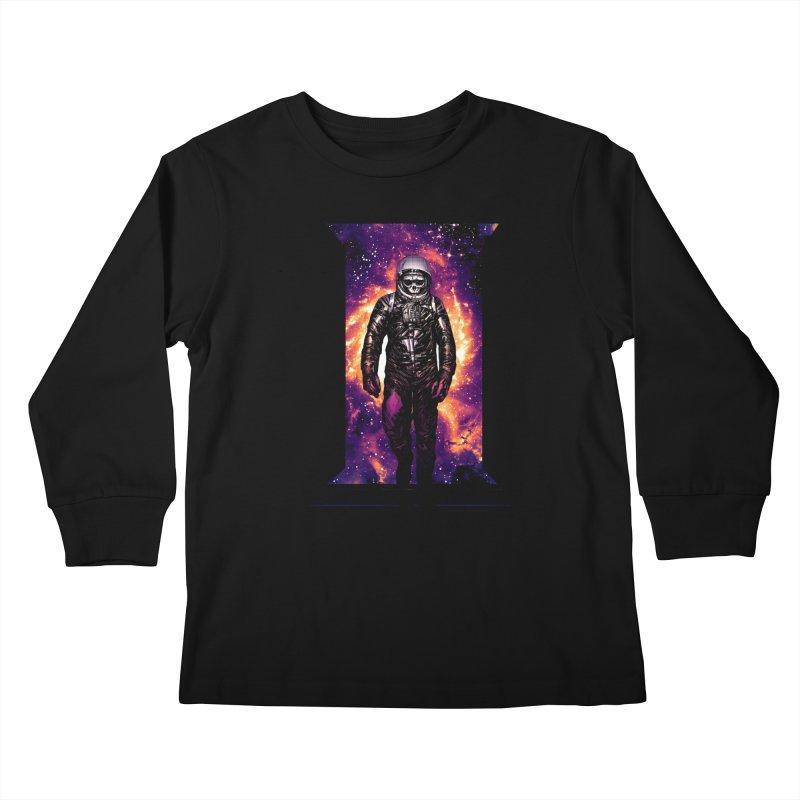 Coming Home Kids Longsleeve T-Shirt by Niel Quisaba's Artist Shop