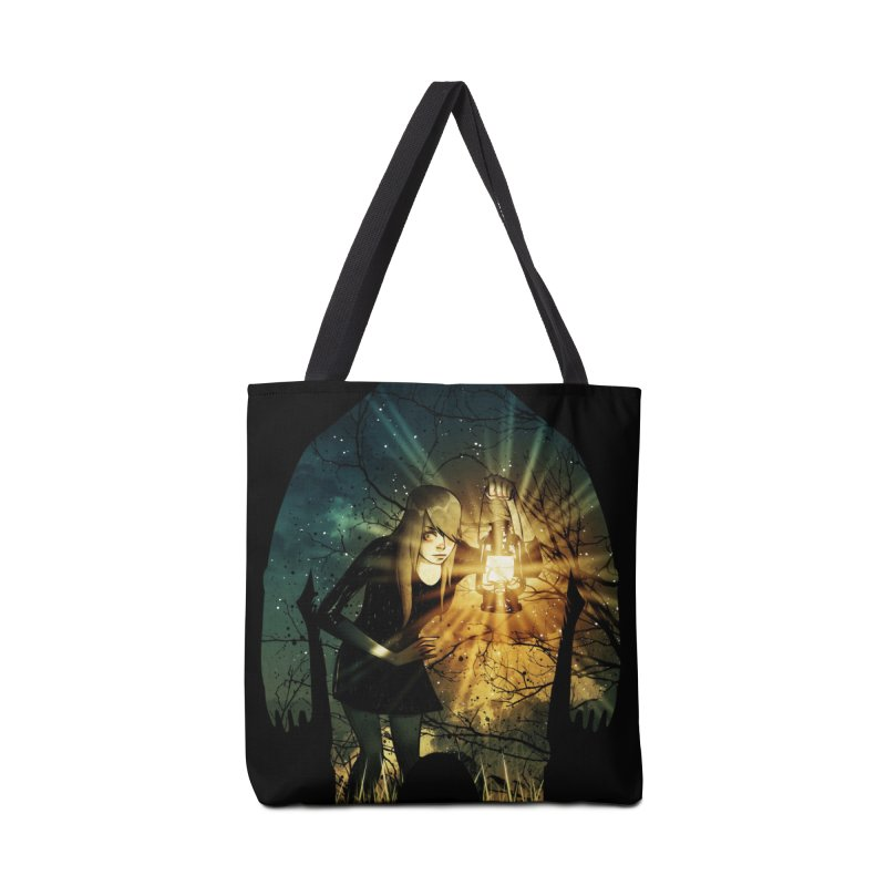 Don't Look Back Accessories Bag by Niel Quisaba's Artist Shop
