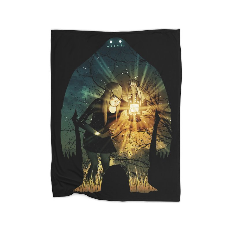 Don't Look Back Home Blanket by Niel Quisaba's Artist Shop