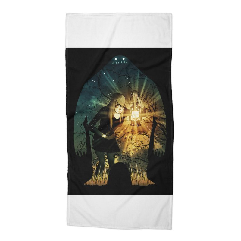 Don't Look Back Accessories Beach Towel by Niel Quisaba's Artist Shop