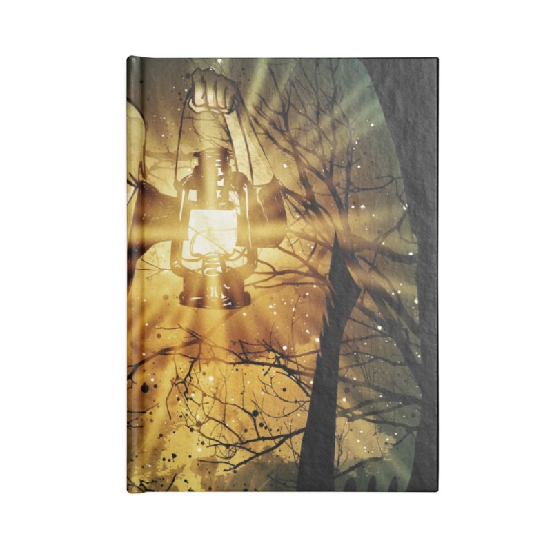 Don't Look Back Accessories Notebook by Niel Quisaba's Artist Shop