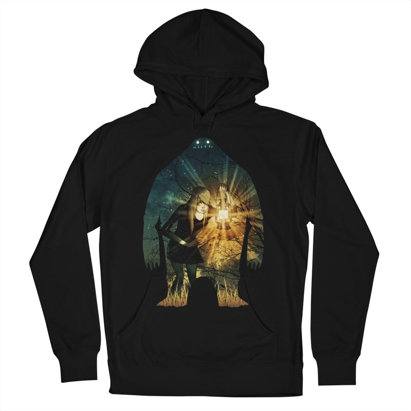 Don't Look Back Women's Pullover Hoody by Niel Quisaba's Artist Shop