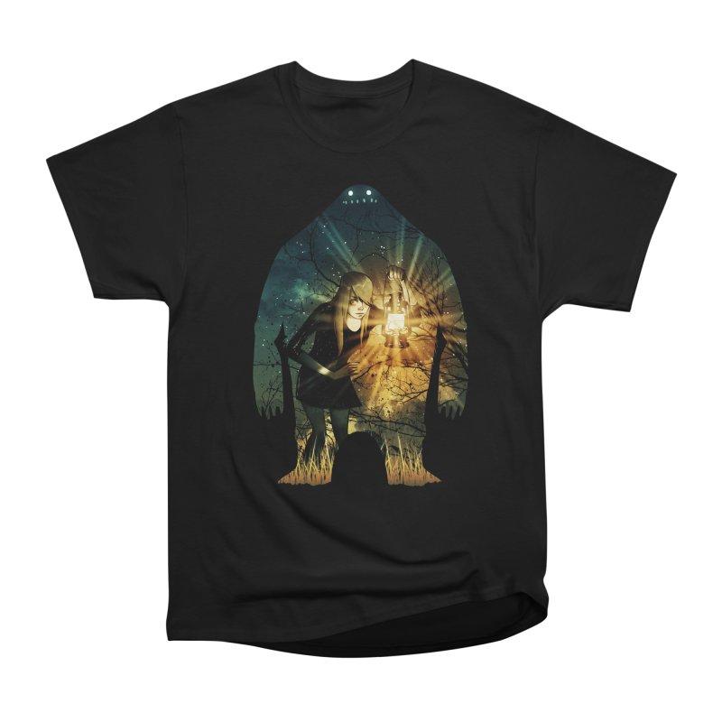 Don't Look Back Men's Heavyweight T-Shirt by Niel Quisaba's Artist Shop