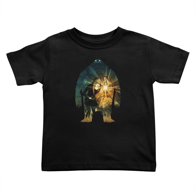 Don't Look Back Kids Toddler T-Shirt by Niel Quisaba's Artist Shop