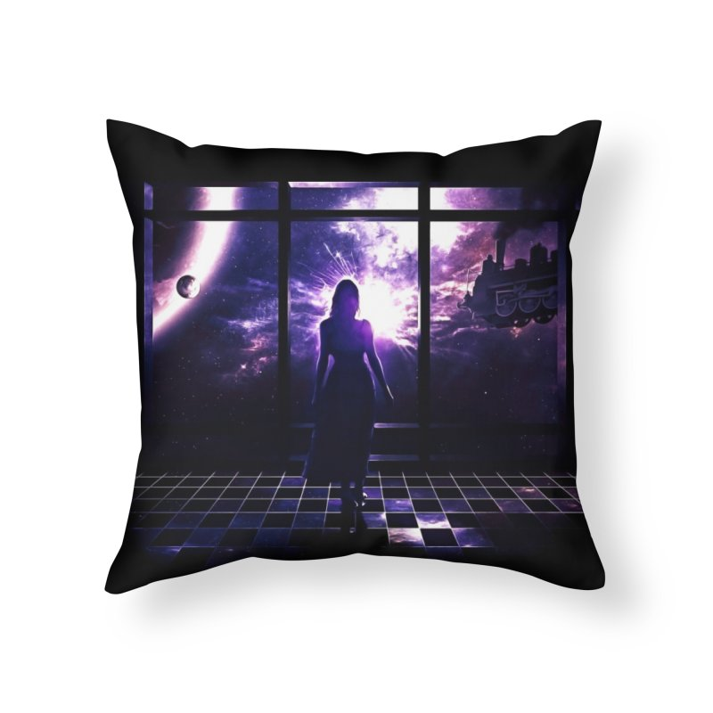 Last Transit Home Throw Pillow by Niel Quisaba's Artist Shop