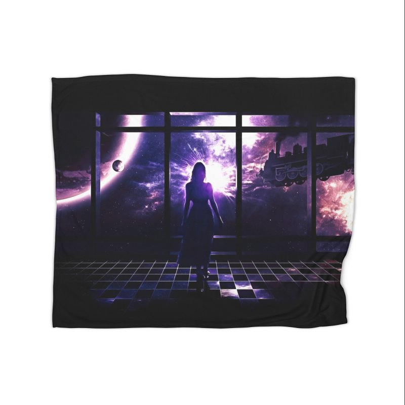 Last Transit Home Blanket by Niel Quisaba's Artist Shop