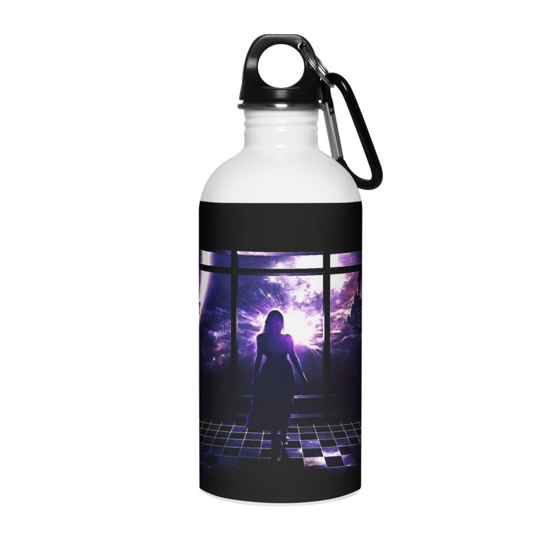 Last Transit Accessories Water Bottle by Niel Quisaba's Artist Shop