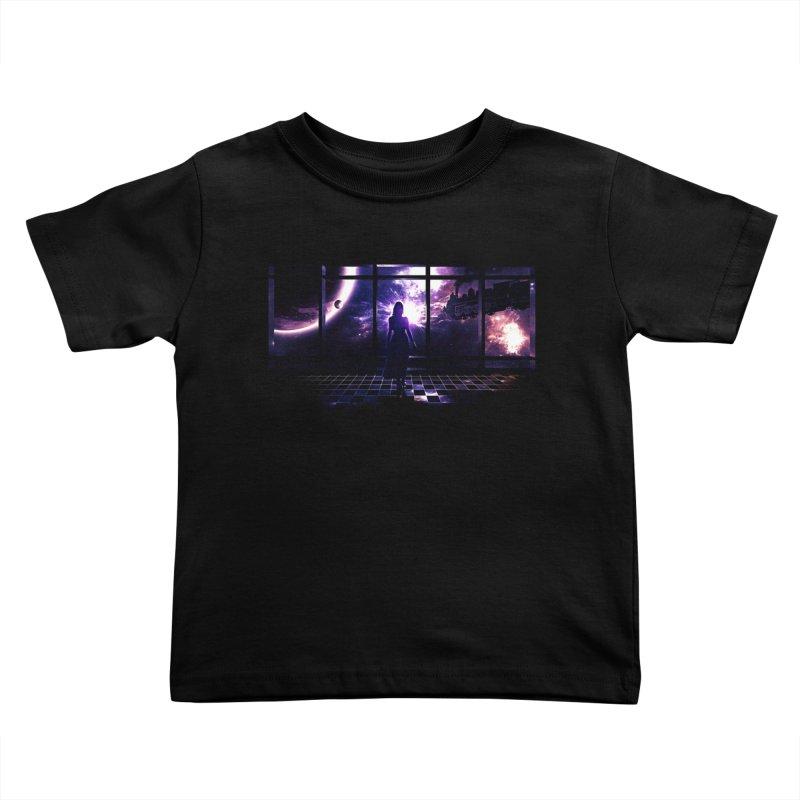 Last Transit Kids Toddler T-Shirt by Niel Quisaba's Artist Shop