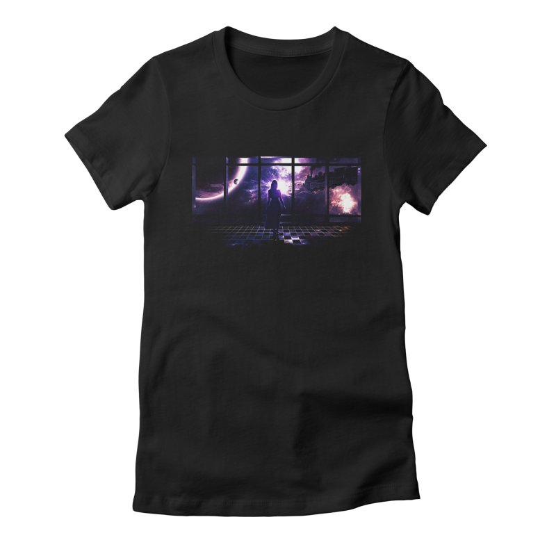 Last Transit Women's Fitted T-Shirt by Niel Quisaba's Artist Shop