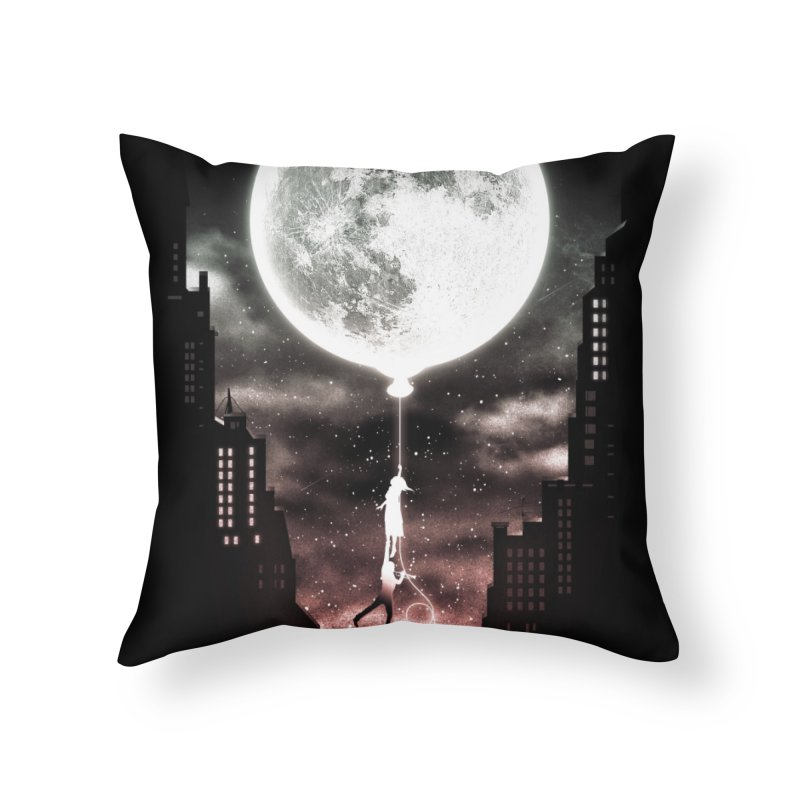 Go Beyond Home Throw Pillow by Niel Quisaba's Artist Shop