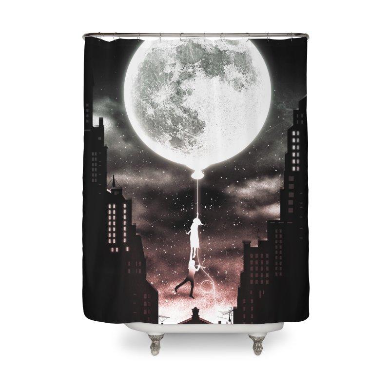Go Beyond Home Shower Curtain by Niel Quisaba's Artist Shop