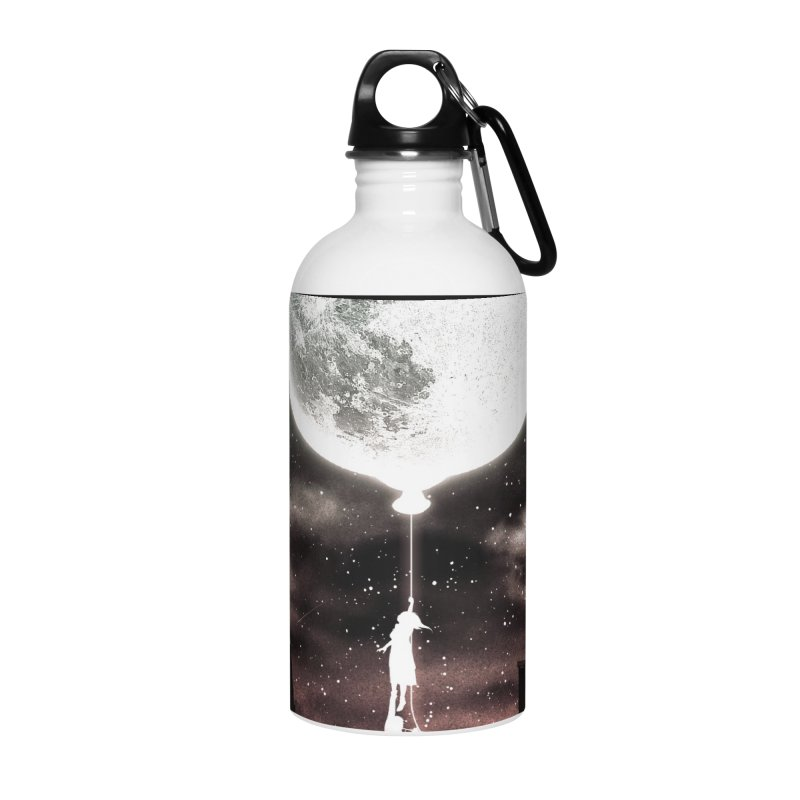 Go Beyond Accessories Water Bottle by Niel Quisaba's Artist Shop