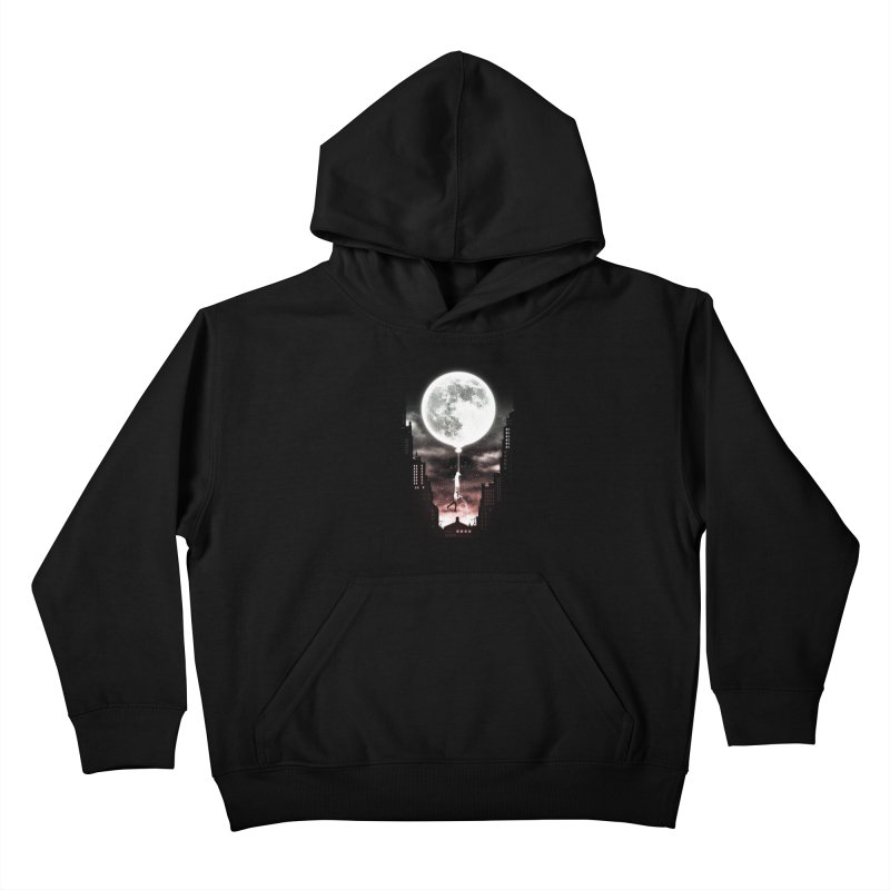 Go Beyond Kids Pullover Hoody by Niel Quisaba's Artist Shop