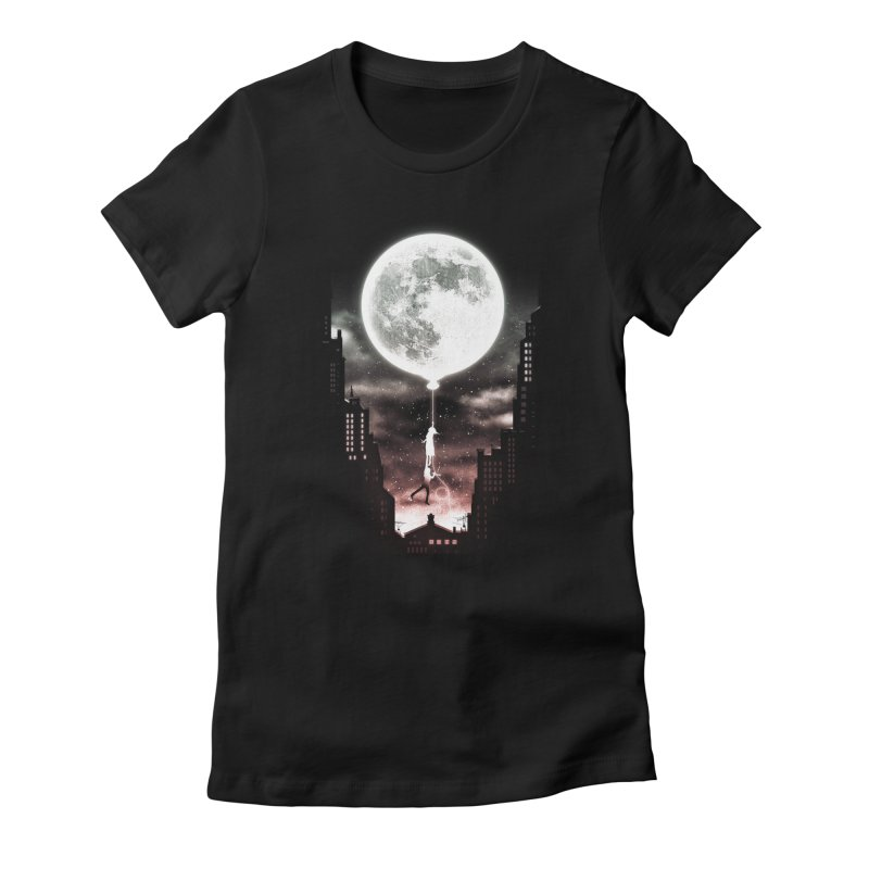 Go Beyond Women's Fitted T-Shirt by Niel Quisaba's Artist Shop