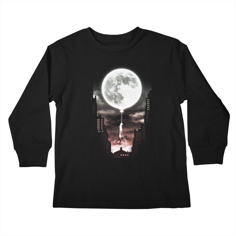 Go Beyond Kids Longsleeve T-Shirt by Niel Quisaba's Artist Shop