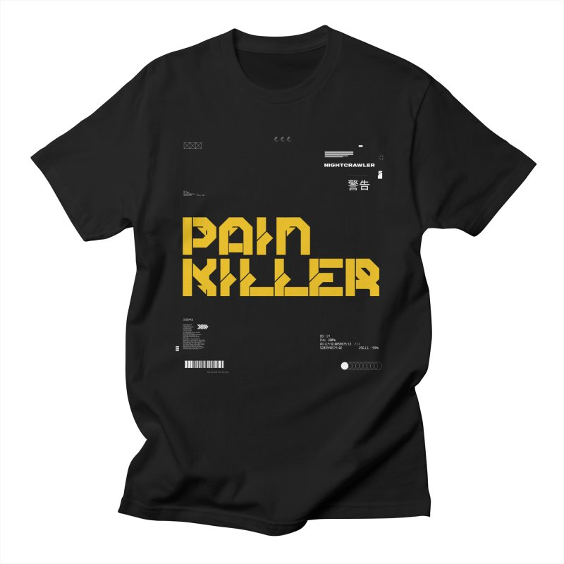 Painkiller Men's T-Shirt by nightcrawlershop's Artist Shop