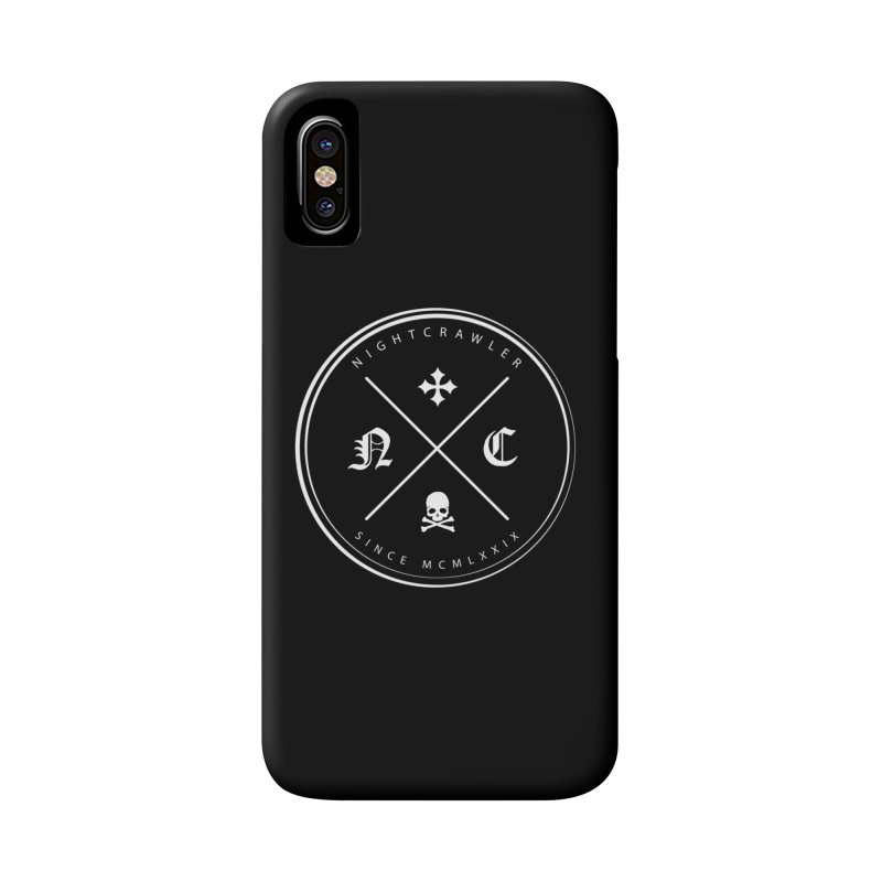 Circle Logo Accessories Phone Case by nightcrawlershop's Artist Shop