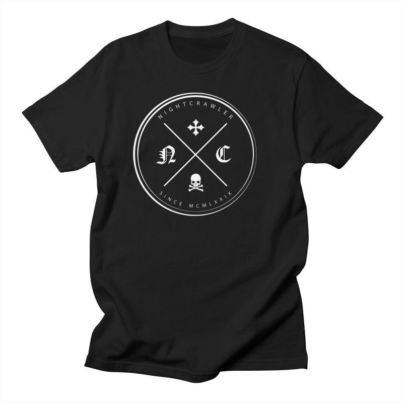 Circle Logo Men's T-Shirt by nightcrawlershop's Artist Shop