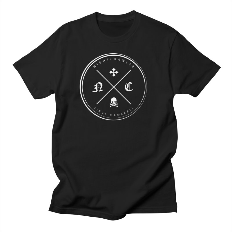 Circle Logo Men's T-Shirt by nightcrawlershop's Artist Shop