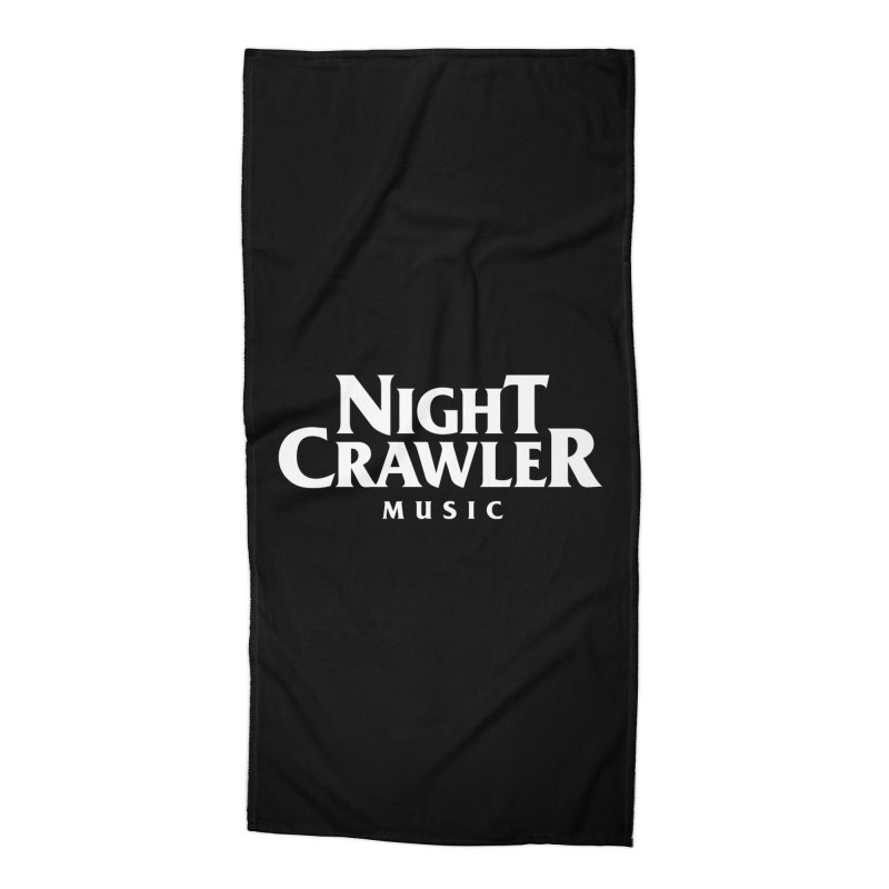 Official Logo Accessories Beach Towel by nightcrawlershop's Artist Shop