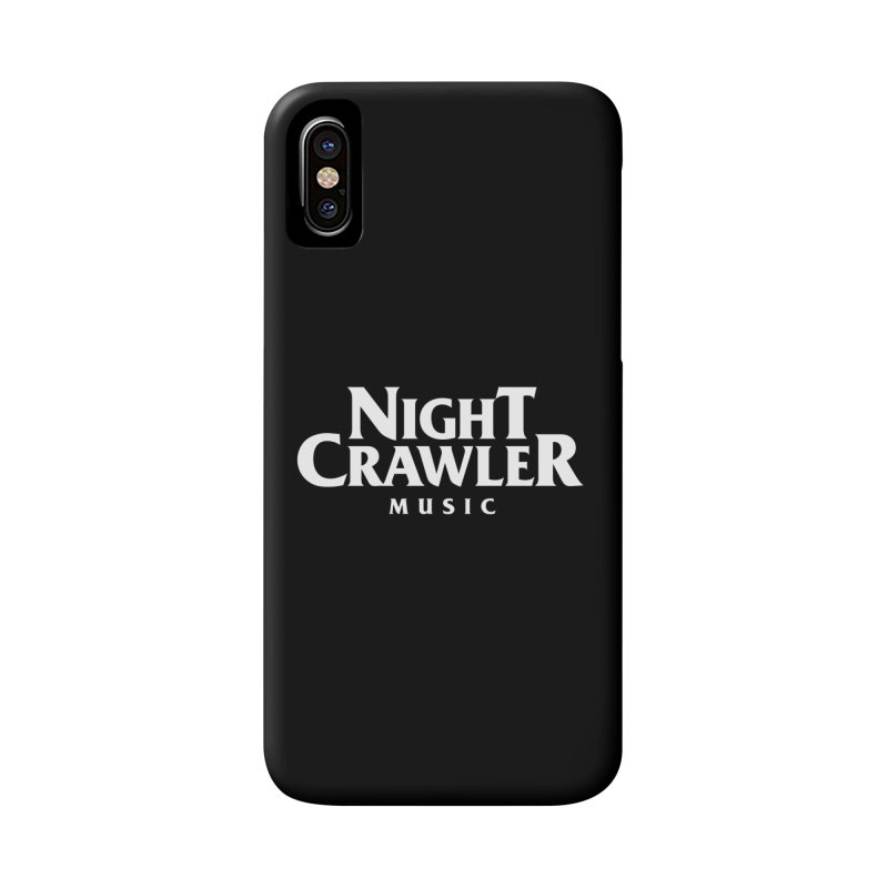 Official Logo Accessories Phone Case by nightcrawlershop's Artist Shop