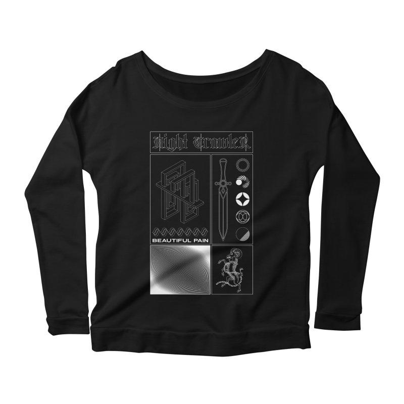 Beautiful Pain Women's Longsleeve T-Shirt by nightcrawlershop's Artist Shop
