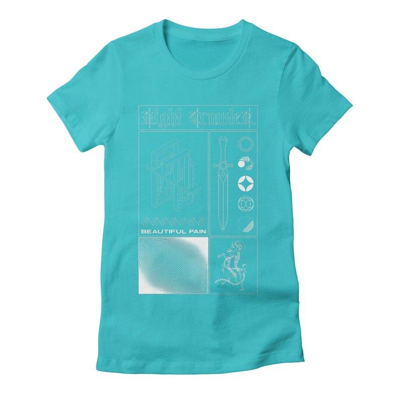 Beautiful Pain Women's T-Shirt by nightcrawlershop's Artist Shop
