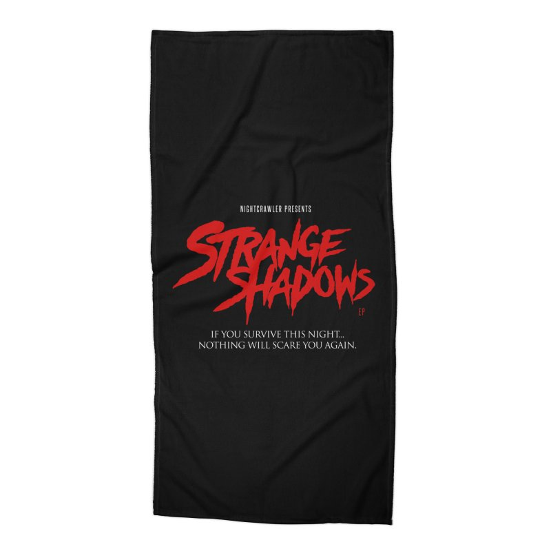 Strange Shadows  Accessories Beach Towel by nightcrawlershop's Artist Shop