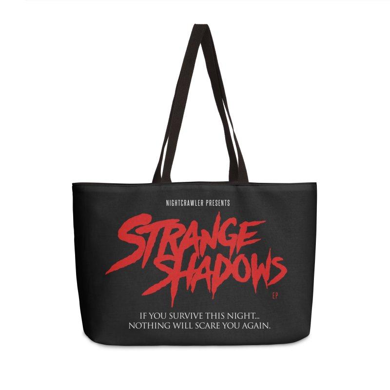 Strange Shadows  Accessories Weekender Bag Bag by nightcrawlershop's Artist Shop