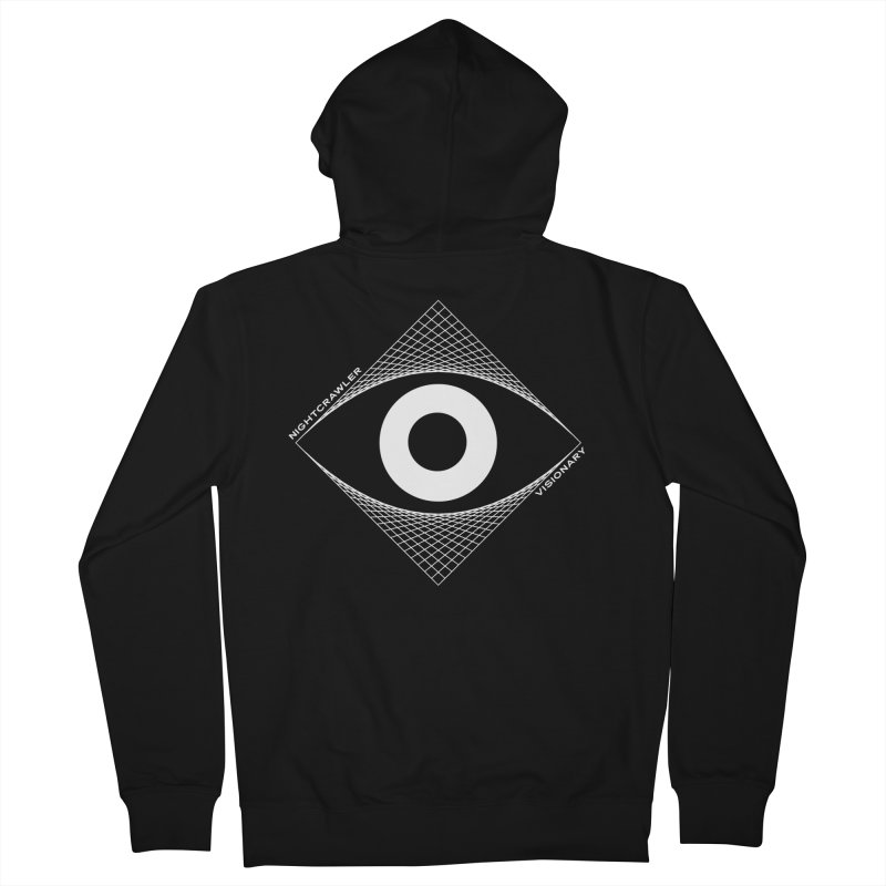 Visionary Men's Zip-Up Hoody by nightcrawlershop's Artist Shop
