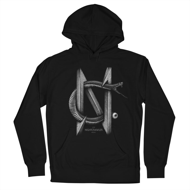NC- Black Sneak Men's French Terry Pullover Hoody by nightcrawlershop's Artist Shop