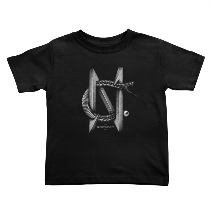 NC- Black Sneak Kids Toddler T-Shirt by nightcrawlershop's Artist Shop