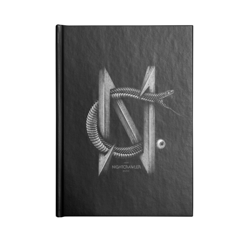 NC- Black Sneak Accessories Blank Journal Notebook by nightcrawlershop's Artist Shop